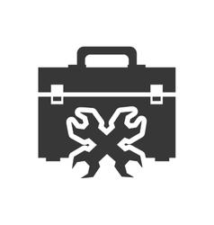 Tool kit box repair design vector