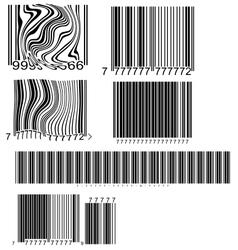 barcode vector image