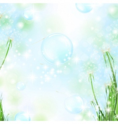 floral air background vector image vector image