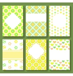Baby Shower Card Templates vector