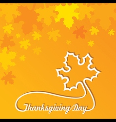 Creative Thanksgiving Day Background stock vector image