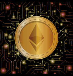 Electronic commerce with ethereum vector
