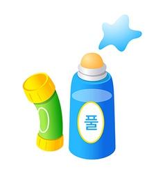 icon glue vector image