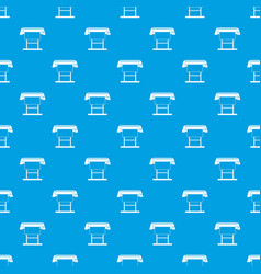 large format inkjet printer pattern seamless blue vector image