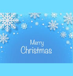 Merry christmas greetings card vector