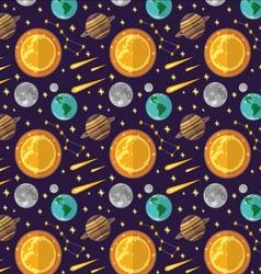 Pattern Cosmos vector image
