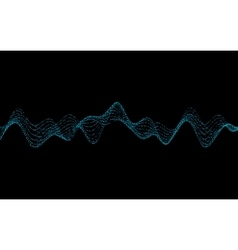 Waves with Particles vector