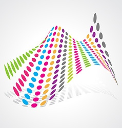 abstract artistic design vector image vector image