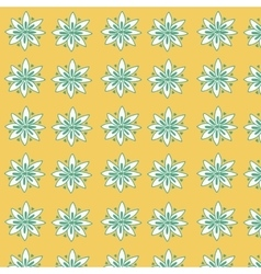 Seamless floral pattern for fabrick vector image vector image