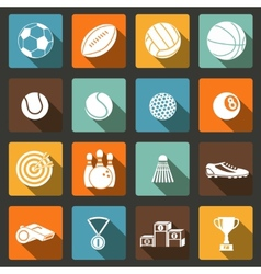 Sports Icons Set vector image