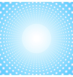 Abstract circular portal vector image