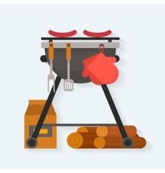 Barbecue vector