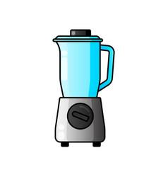 blender juicer icon filled flat sign vector image