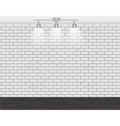 Brick Wall for Your Text and Images vector