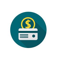 credit card icon sign symbol vector image
