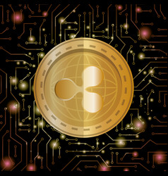 Electronic commerce with ripple vector