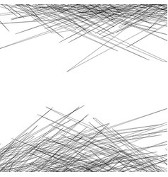 Entangled texture of thin lines vector