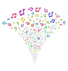 music fountain stream vector image