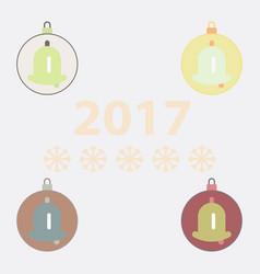 New year ball christmas ball vector