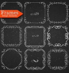 set graphic elements for design vector image