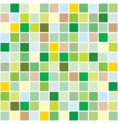 springtime mosaic pattern vector image