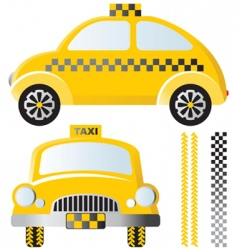taxis vector image