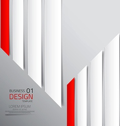 abstract business design vector image vector image