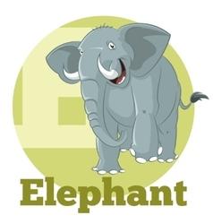 ABC Cartoon Elephant3 vector image