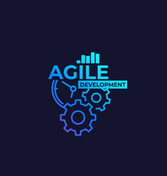 Agile software development vector