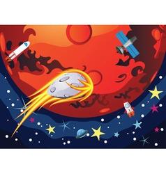 Mars planet3 vector