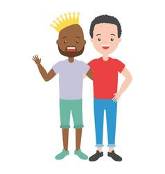 people lgbt pride vector image