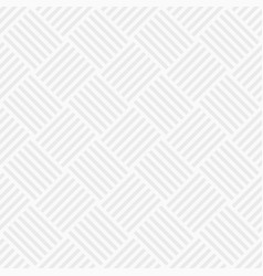Seamless pattern of intertwined stripes vector