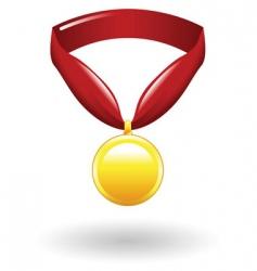 medal illustration vector image vector image