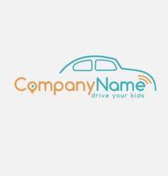 transportation drive company vector image