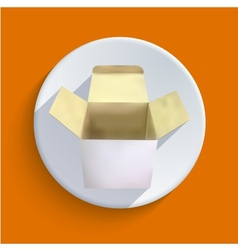 box icon Eps 10 vector image vector image