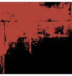 Grunge painted wall vector image vector image