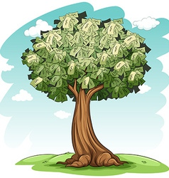A money tree vector image