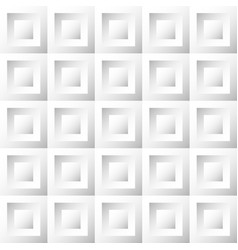 abstract background white and gray tiles vector image