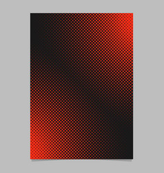 Abstract halftone dot pattern flyer template vector