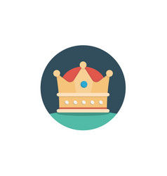 crown icon sign symbol vector image