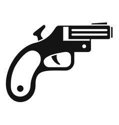 Flare gun icon simple style vector