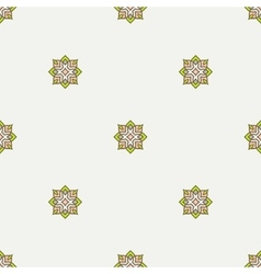 Geometric ornament Thin line seamless pattern vector