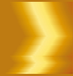 gold metal plate with yellow texture background vector image