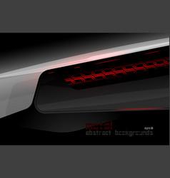 Metal steel lighting surface vector