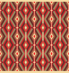 mid-century modern art background abstract vector image