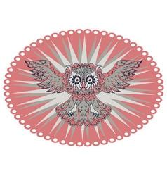 Ornamental Owl4 vector image