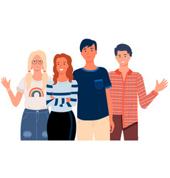 People greeting gesture different nations vector
