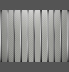 Prison bars foreground effect isolated on vector