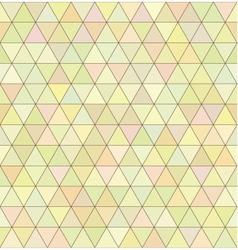 Seamless geometry pastel triangular pattern vector