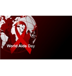Wold Aids day vector